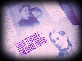 Photos of poet & literary Granny Sara Teasdale as a child