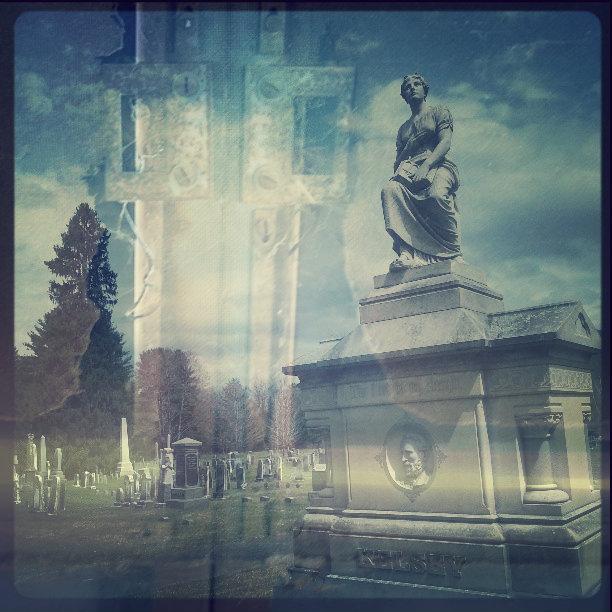 Weedpatch + connecticutt cemetery