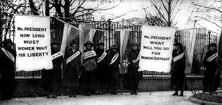 Increased contrast Silent Suffragettes