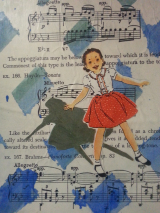 I love my Mom, I love vintage books, I love combining it all....