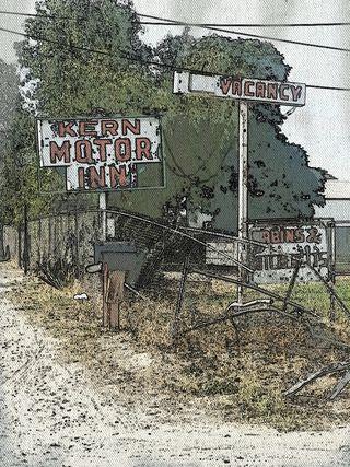 This treasure is easily missed... the Kern Motor Inn... South Union in Bakersfield