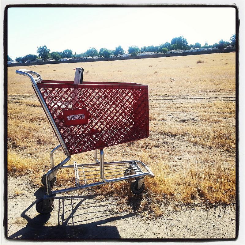 Rosedale shopping cart