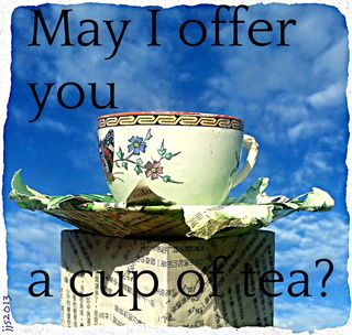 May I offer you a cup of tea