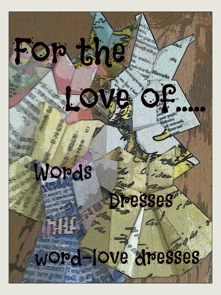 FTLO Words Love Dresses