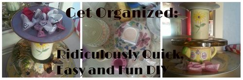This has it all: artfulness, organization AND a quick and easy DIY process. Heavenly!