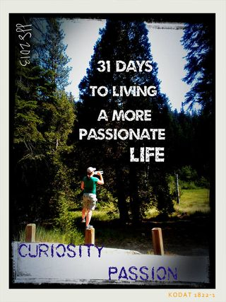 31 days day 5curiosity and passion