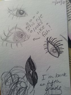 "My ""Sketching Eye"" practice."