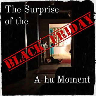 Surprising Black Friday A-ha Moment: What would happen if you spent the whole day NOT shopping?