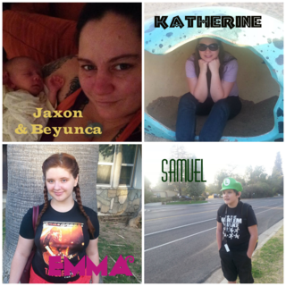 My Children and Grandbaby - Inspired by All 5!