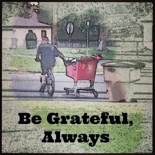 Be grateful always