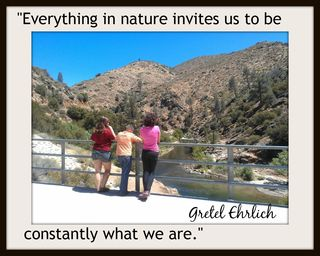 Everything in nature invites us w sig