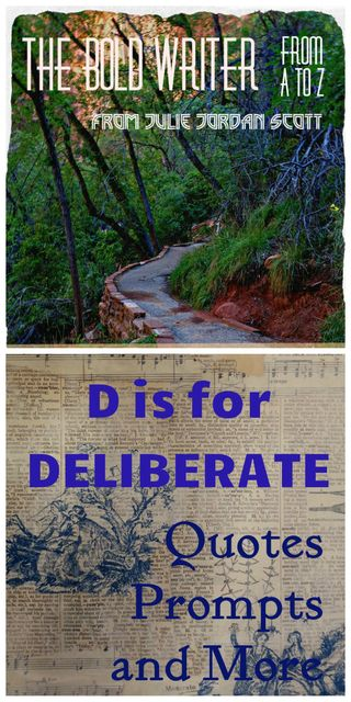 D is for Deliberate Second final