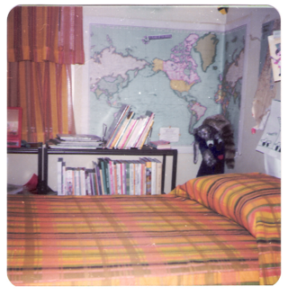Typical 1970's bedroom. Mine didn't look like this, but it sort of sets the tone.