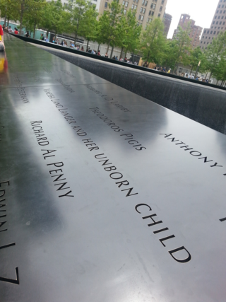 When I saw this name of Mommy and Unborn Baby, I gasped... and cried. 911 Memorial