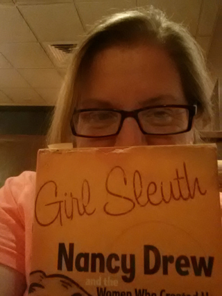 This one never made it to Instagram. Just wasn't feeling it. Reading this awesome book, though, is feeling it! Literary Granny, Feminist History, Great wordplay.... waiting at Panera for my social Emma to finish her evening with friends. Mom of the year. Tired.