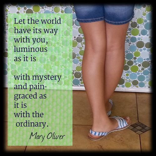 Ordinary quote mary oliver