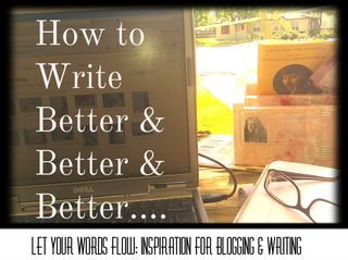 Writing better and better and better for lywf