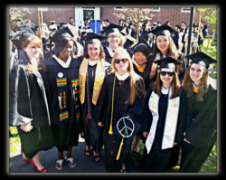 The Young Women Graduates of Smith College 2014 from Hubbard House, including my daughter, Katherine.