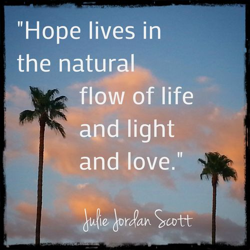 Sunset august 9 with quote