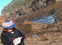 Writing at morro bay