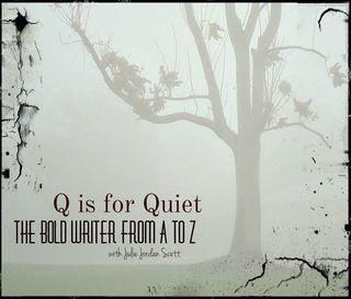 Q is for Quiet 2 square