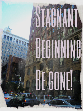 Get rid of stagnant beginnings to your creativity - and finish your writing time strong.
