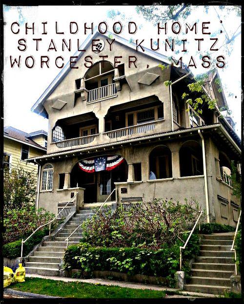 Stanley Kunitz home 1