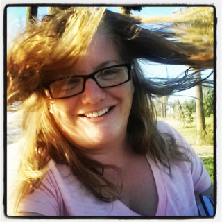 I went walking on the Bluffs to enjoy the sunset and as a bonus, the wind came out to play!