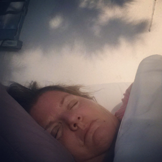 woke at 345 am and spent the rest of my sleeping hours on my front porch. In homes of my home's era, there was oftentimes a sleeping porch included. I'm sure my neighbors hated this, if any of them caught me snoozing on a Saturday morning. Note: I needed a blanket!