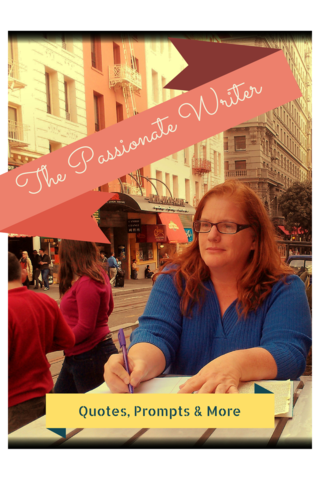 The Passionate Writer with Julie Jordan Scott offers quotes, prompts and more each day in July - join the writing fun!