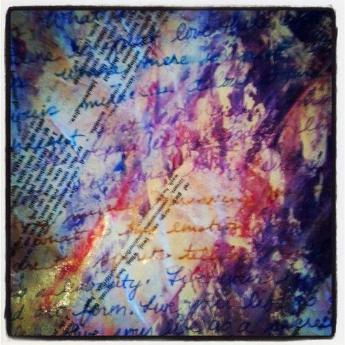 Day 3 art journal wisdom matilde in process 1
