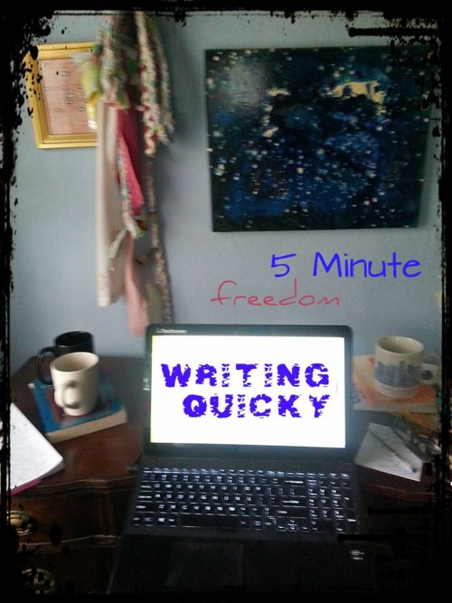 How to find freedom in a 5 minute writing quicky