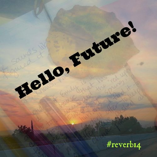 Hello Future with words