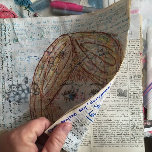 Breakthrough art journal