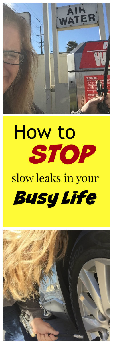Stop slow leaks column