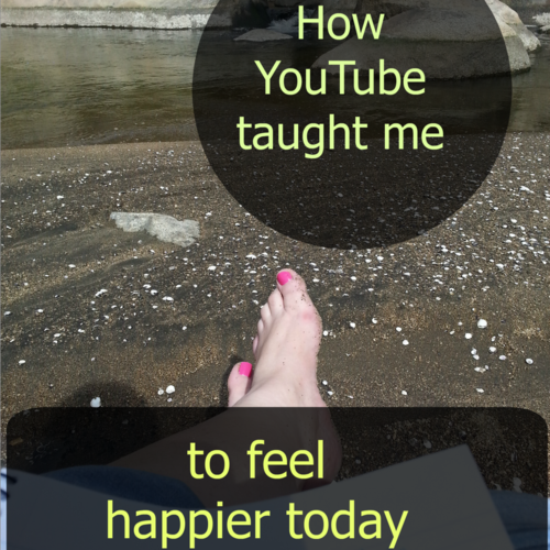 How YouTube taught me to feel happier today (it isn't what you might think.)