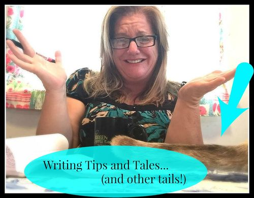 Writing Tip Tales (and Tails!) for Blog etc