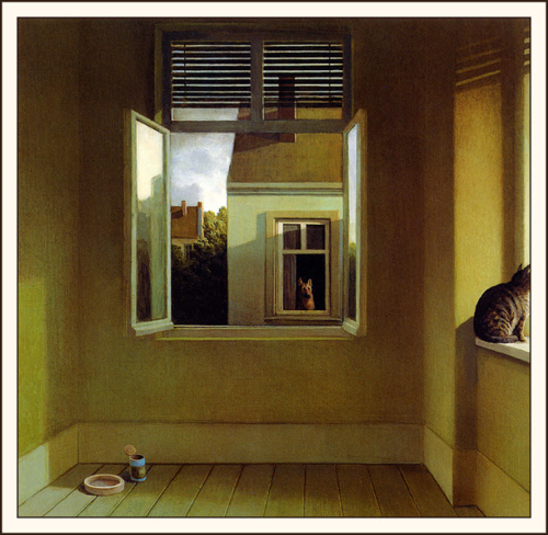 Magpie Tales Visual Prompt for June 28: Midsummer Night's Melancholy by Michael Sowa