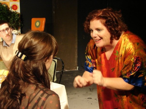 "Here I am in ""Beyond Therapy"". I won best supporting actress for the season for this performance. Wacky and I loved it!"