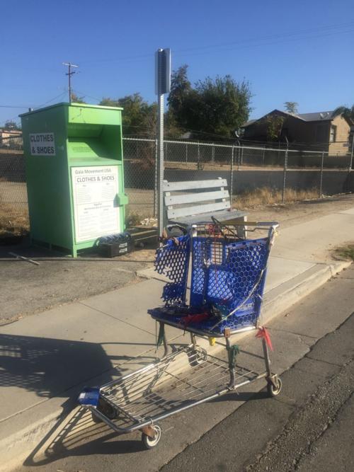 Shopping cart on Columbbus