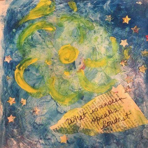 Art journal unseen speaks loudest