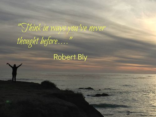 Think in ways you've never thought before,....