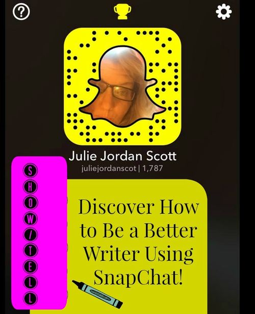Show tell How to Be a Better Writer on SnapChat