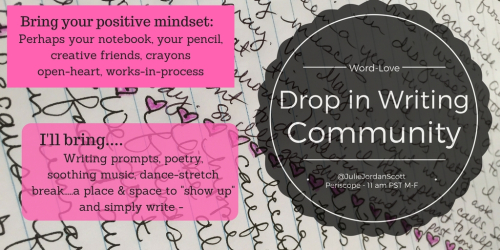 Drop in Writing Community M-F