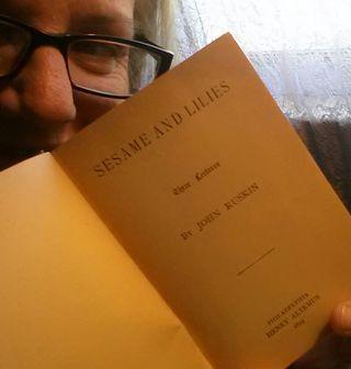Book sale John Ruskin a hot ticket
