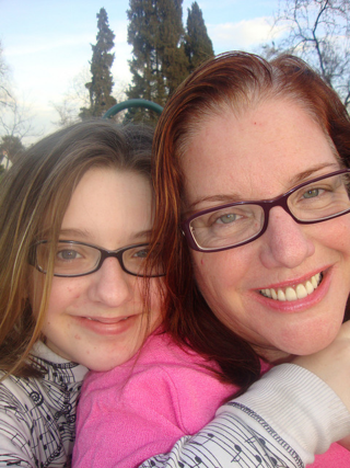 Emma and I in early 2010, nearly five years ago.