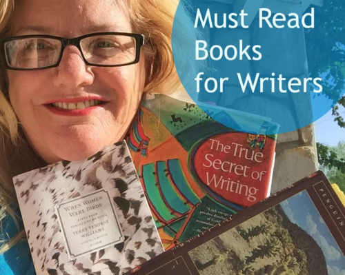 Three Must Read Books for Writers: Terry Tempest Williams, Natalie Goldberg and Mary Austin Quotes from Each Book (and why you should read each one) on today's Thoughts on Thursday Video
