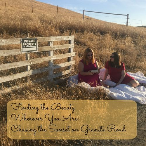 Chasing on granite road final cover