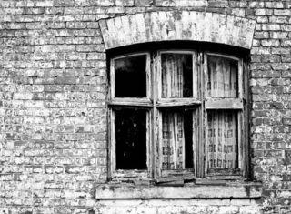 Victorian window broken