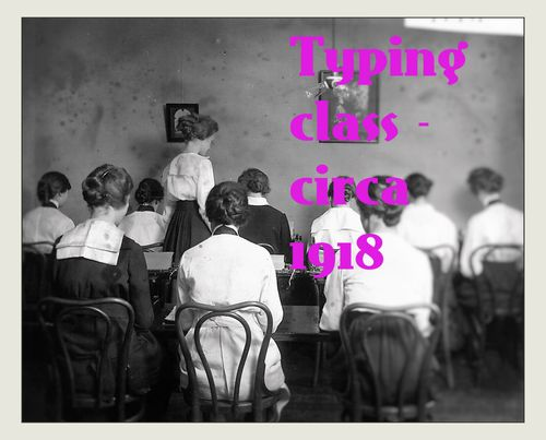 Typing class for blog